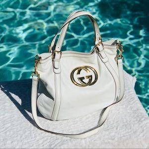 🌹 GUCCI 🌹 Leather Britt Crossbody Bag